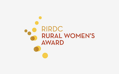 RIRDC Rural Women's Award logo