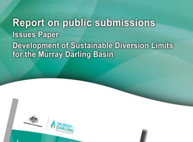 Sustainable Diversion Limits for the Murray-Darling Basin Issues Paper