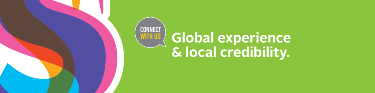 Global experience & local credibility.
