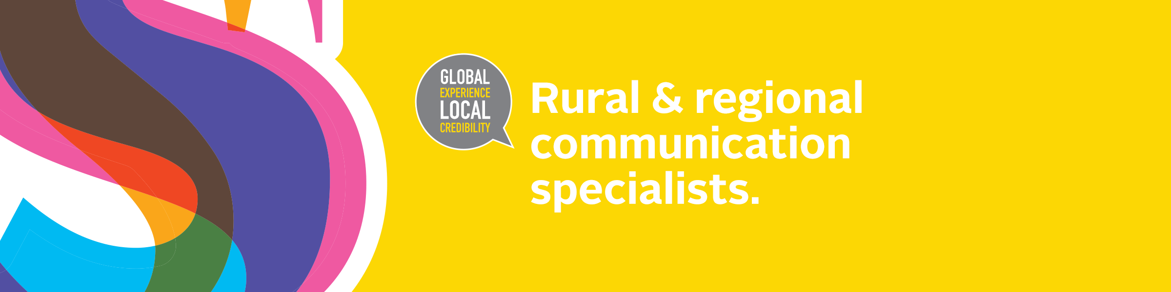 Rural & regional communication specialists.